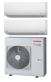 Offerta climatizzatori Toshiba DUAL Bologna
